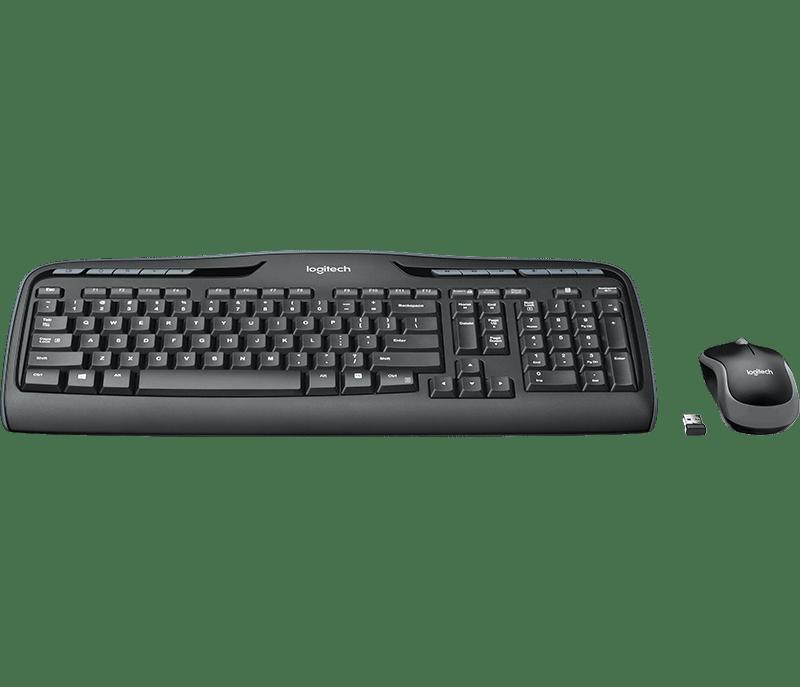 Logitech Wireless Combo MK330 tastatur og mussett Nordisk